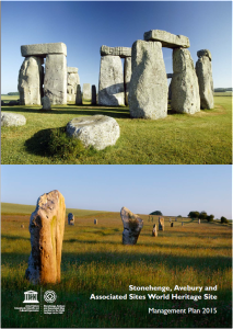 Front cover of Stonehenge and Avebury WHS Management Plan 2015